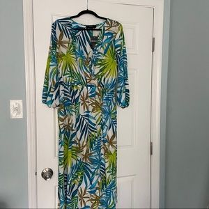Plus size beach maxi dress